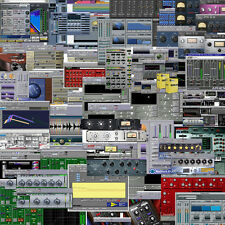 FULL AVID TDM  PRO TOOLS MIX RECORDING  5.1.3 PLUG IN BUNDLE OS 9.2 PRE ILOK MAC