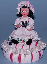 "Madame Alexander resin doll ""Little Miss Muffet"" #90855 box (not hinged)"