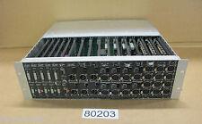 Console Rack Amek I.O + 15 cartes DR50 / DR30 / DR20 / DR40