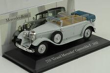 Mercedes-Benz 770 Grand Convertible F W07 1932 grau 1:43 IXO Altaya Collection