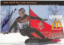 Philipp Schoch Snowboard TOP AK Orig. Sign. + G 5066