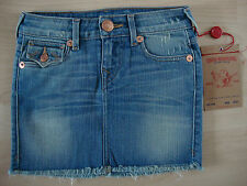 TRUE RELIGION Jeans GIRLS LAYLAA CUT Mädchen Jeansrock Gr.7 NEU mit ETIKETT