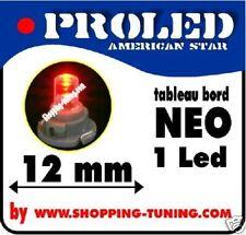 1x ampoule led tableau de bord pour compteur NEO wedge T4.2 Rouge