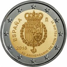 ESPAÑA SPAIN  SPANIEN  2018 25X2€  REY FELIPE VI
