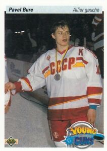 PAVEL BURE NO:526 YOUNG GUNS in UPPER DECK 1990-91  near mint