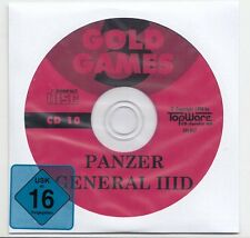 Panzer General 3D - Panzergeneral Win 95/98/Me/XP/Vista (windows 7 mit fanpatch)