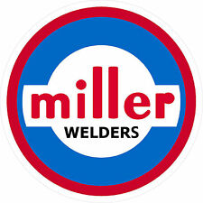 "MILLER WELDER 1960 DECAL STICKER - 2"" - SET OF 2"