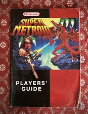 NINTENDO SUPER METROID PLAYERS' GUIDE / MANUAL - SNES SUPER NINTENDO 1990s
