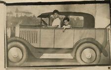 Photo Fête Foraine Stand de Foire Vers 1920