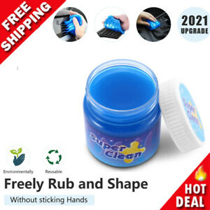 Car Cleaning Dust Slime Gel Putty, Universal Cleaning Mud for Car Interior 160g