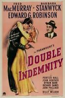 Double Indemnity Movie POSTER 11 x 17 Fred MacMurray, Barbara Stanwyck, A