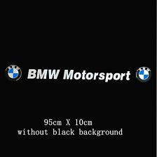 Windscreen Sunstrip Windows Sticker Decal For BMW (no blackground)