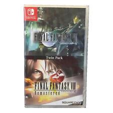 Final Fantasy VII VIII Twin Pack Nintendo Switch 2019 English Japanese Sealed