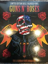 "GUNS N' ROSES ""WELCOME TO PARADISE CITY"" LEGENDARY RITZ BROADCAST NEW VINYL LP"