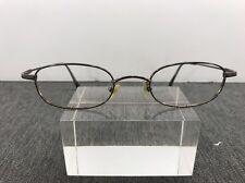 Giorgio Armani Eyeglasses 9Q9 45-20 7-2 Gunmetal Flexible Italy C42