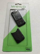 Sony Ericsson W850 Full Fascia Housing Cover Front Back Case Keypad Black