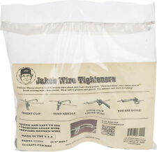 """Jakes Wire Tighteners - Bag of 20 1/4"""" Clips  Fix Fence - Fast Easy! Made in USA"""