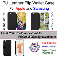 Personalized Wallet Leather Case Cover for iPhone