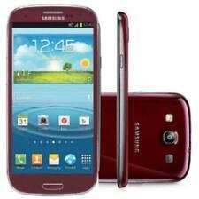 Samsung Galaxy S3 III SGH-I747 - 16GB  Red (AT&T Unlocked) Smartphone