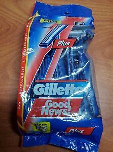 Gillette Good New! Plus Value Pack 12 razors Comfort Blades Lubrastrip  New