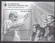 POLAND 2016 **MNH SC# Blackprint - S/S - World Youth Day - Cracow 2016 -
