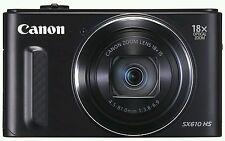NUOVO * CANON SX610 Powershot Fotocamera Digitale FULL HD WI-FI NFC 20MP 18x Zoom ottico