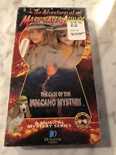 The Adventures of Mary Kate & Ashley The Case of the Volcano Mystery Vhs New