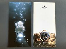 "RARE ROLEX ""The Deep , Die Tiefe"" Movie Brochure Reklame  vintage Submariner"