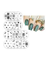 Winstonia First Generation Nail Art Stamping Image Plates Set - 20 Pieces
