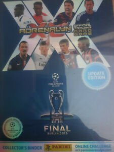 Panini Adrenalyn Champions League 2014-15 update complete album