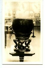 Museum Chinese Temple Gong-Warren-New Hampshire-RPPC-Vintage Real Photo Postcard