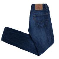 LEVIS 511 Mens Slim Skinny Dark Blue Jeans W29 L30 (O127)