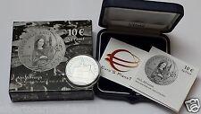 10 euro Italia 2014 Ag Fs Proof BE PP ATRI Abruzzo Arti Italie Italy Italien