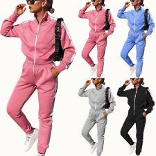 Trainingsanzug Jogginganzug Damen Sweatjacke Hosen Sportanzug Fitness Loungewear