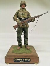 Verlinden 120mm,  Resin soldier German sniper WWII, painted and mounted