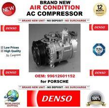 DENSO AIR CONDIZIONE AC COMPRESSORE OEM: 99612601152 per Porsche Nuovo di Zecca Unità