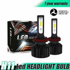 H11 LED Headlight Kit Plug&Play 6000K for Hyundai ELANTRA 2013-2016 Low Beam