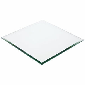 Plymor Square 5mm Beveled Glass Mirror, 10 inch x 10 inch