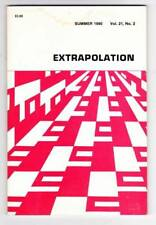 EXTRAPOLATION: A JOURNAL OF SCIENCE FICTION & FANTASY Summer 1980 Roger Zelazny