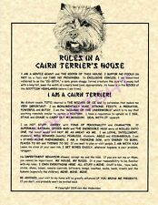 Rules In A Cairn Terrier's House