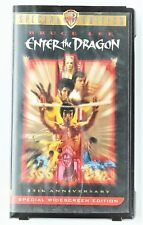 Enter The Dragon VHS 1973 Bruce Lee 25th Anniversary Special Edition Clam Shell