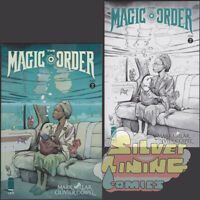 THE MAGIC ORDER #2 Set of Two COVER A + B VARIANT Image Comics NETFLIX