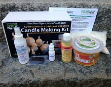 Creative Candle Making Kit Make a Candle from almost any Shape..Easy to Use
