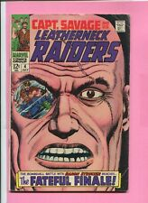 CAPTAIN SAVAGE AND HIS LEATHERNECK RAIDERS # 4 - STRUCKER - HYDRA ORIGIN - CENTS