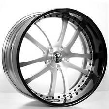 "4ea 24"" AC Forged Wheels Rims 312 ST Black 3 pcs (S2)"