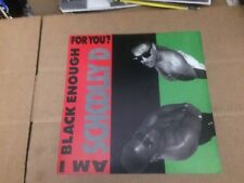 Schoolly D Am I Black Enough For You12 X 12 Promo Poster Flat Double Sided