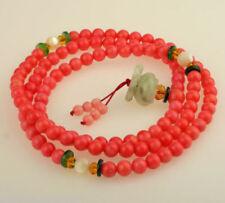 Collares y colgantes de joyería coral, con amor y corazones