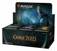 Magic Core Set 2021 M21 Booster Box MTG NEW FACTORY SEALED PRESALE SHIPS 7/3