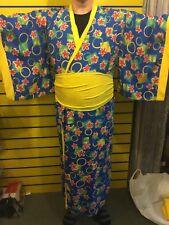 Japón kimono japonés Pantomima Disfraz Elaborado Vestido Juegos con disfraces Tamaño Grande Larp