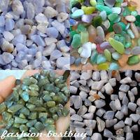 Natural Crystal Gravel Stones Quartz Rocks River Garden Tank Aquarium Decor